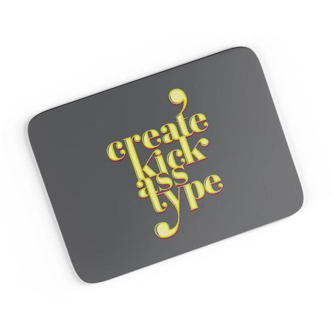 Create Kick Ass Type A4 Mousepad Online India
