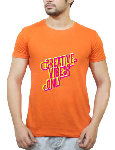Buy Creative Vibes T-Shirts Online India | Creative Vibes T-Shirt | PosterGuy.in