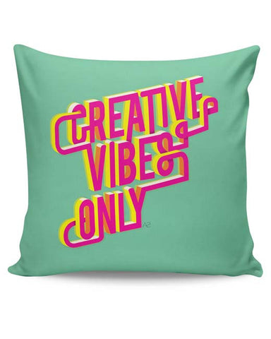 PosterGuy | Creative Vibes Cushion Cover Online India