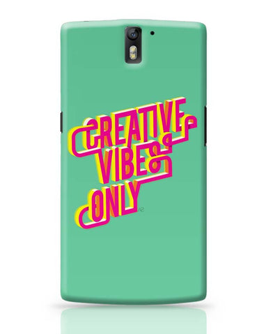 OnePlus One Covers | Creative Vibes OnePlus One Case Cover Online India