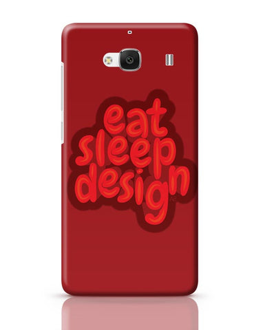Xiaomi Redmi 2 / Redmi 2 Prime Cover| Eat Sleep Design Redmi 2 / Redmi 2 Prime Case Cover Online India