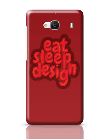 Xiaomi Redmi 2 / Redmi 2 Prime Cover| Eat Sleep Design Redmi 2 / Redmi 2 Prime Cover Online India