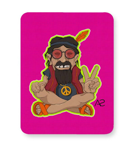 Buy Mousepads Online India | Happy Hippie Mouse Pad Online India