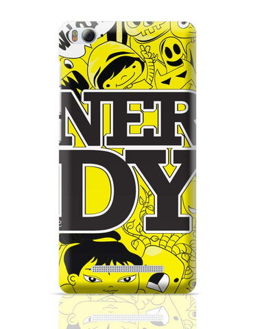 Xiaomi Mi 4i Covers | Nerdy Doodle Xiaomi Mi 4i Case Cover Online India