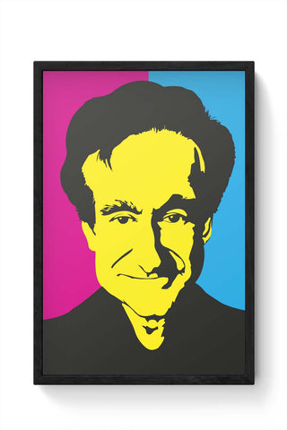 Framed Posters Online India | Robin Williams Framed Poster Online India