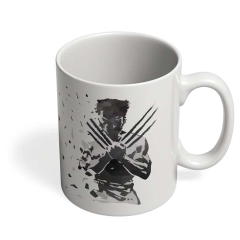 Coffee Mugs Online | Low Poly Wolverine Dispersed Mug Online India