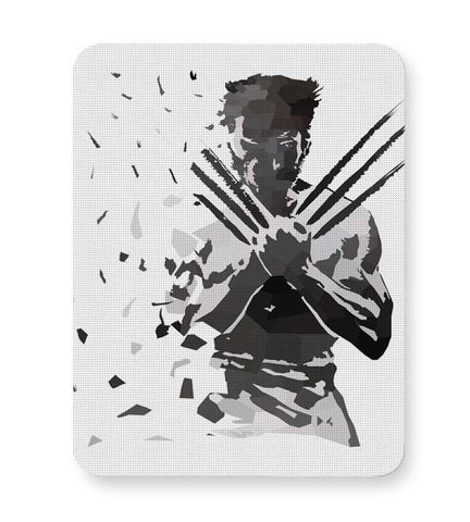 Buy Mousepads Online India | Low Poly Wolverine Dispersed Mouse Pad Online India