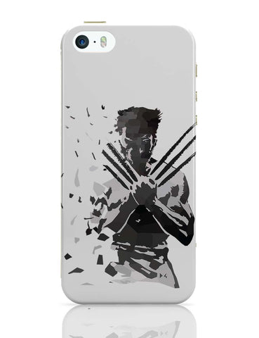 iPhone 5 / 5S Cases & Covers | Low Poly Wolverine Dispersed iPhone 5 / 5S Case Online India