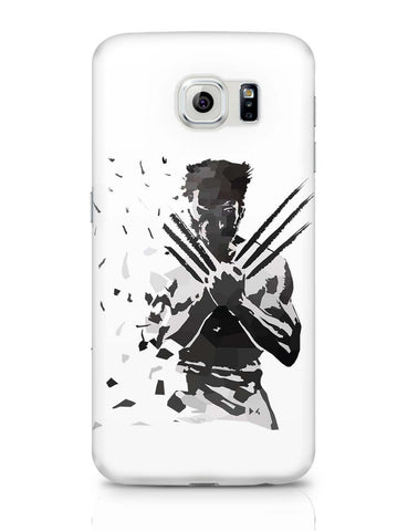 Samsung Galaxy S6 Covers | Low Poly Wolverine Dispersed Samsung Galaxy S6 Case Covers Online India