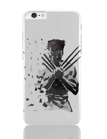 iPhone 6 Plus/iPhone 6S Plus Covers | Low Poly Wolverine Dispersed iPhone 6 Plus / 6S Plus Covers Online India
