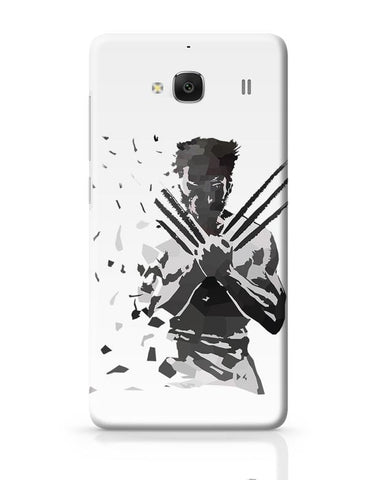 Xiaomi Redmi 2 / Redmi 2 Prime Cover| Low Poly Wolverine Dispersed Redmi 2 / Redmi 2 Prime Case Cover Online India