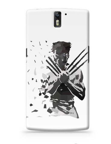 OnePlus One Covers | Low Poly Wolverine Dispersed OnePlus One Case Cover Online India
