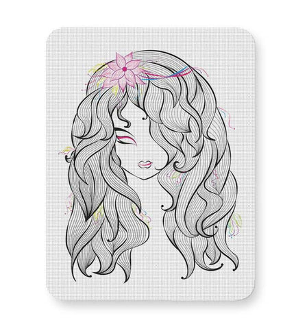 Buy Mousepads Online India | Beautiful Girl Mouse Pad Online India
