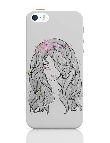 iPhone 5 / 5S Cases & Covers | Beautiful Girl iPhone 5 / 5S Case Online India