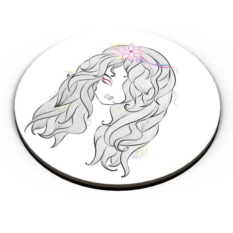 PosterGuy | Beautiful Girl Fridge Magnet Online India by KarKhana