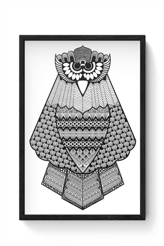 Owl Framed Poster Online India