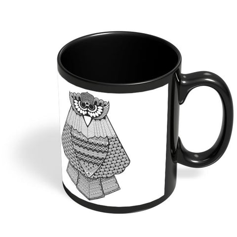 Owl Black Coffee Mug Online India