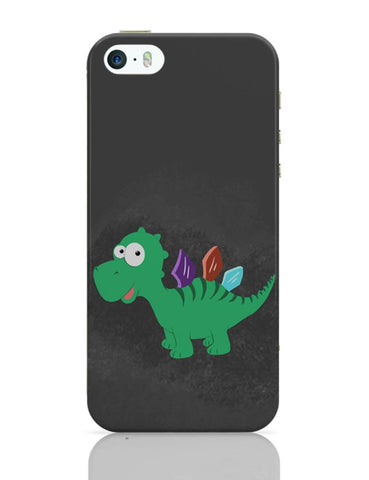 iPhone 5 / 5S Cases & Covers | Vilupt Dinosaur iPhone 5 / 5S Case Cover Online India