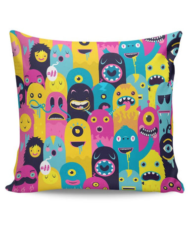 PosterGuy | Monster Oye! Cushion Cover Online India