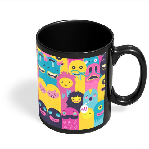 Coffee Mugs Online | Monster Oye! Black Coffee Mug Online India