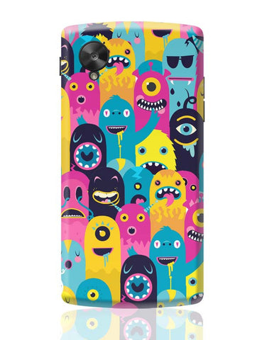 Google Nexus 5 Covers | Monster Oye! Google Nexus 5 Case Cover Online India