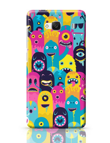 Xiaomi Redmi 2 / Redmi 2 Prime Cover| Monster Oye! Redmi 2 / Redmi 2 Prime Case Cover Online India
