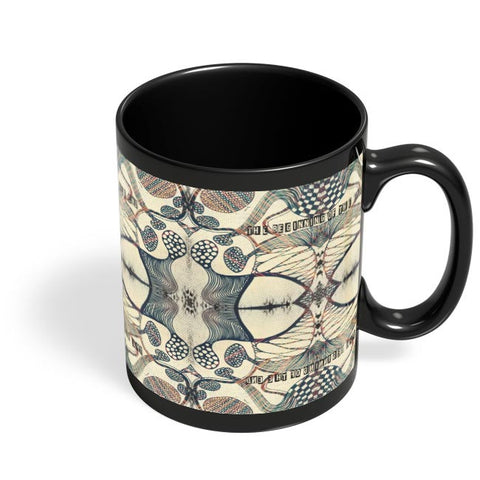 The Beginning Of The End Black Coffee Mug Online India