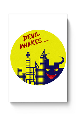 Posters Online | Devil Awakes Poster Online India | Designed by: Aman Duggal