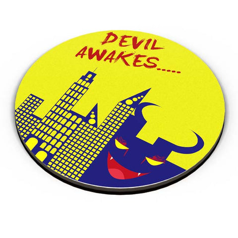 PosterGuy | Devil Awakes Fridge Magnet Online India by Aman Duggal