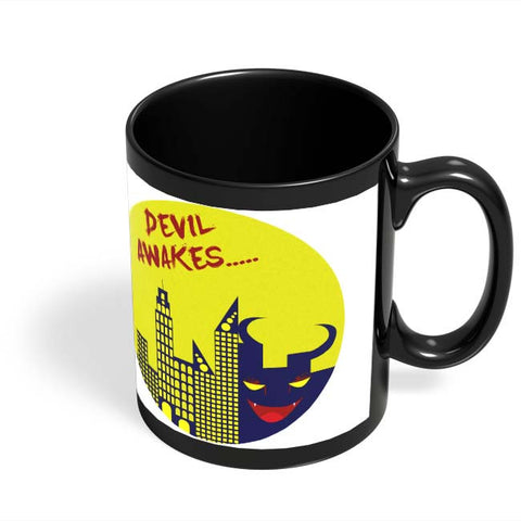 Coffee Mugs Online | Devil Awakes Black Coffee Mug Online India