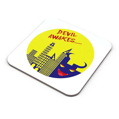 Buy Coasters Online | Devil Awakes Coaster Online India | PosterGuy.in