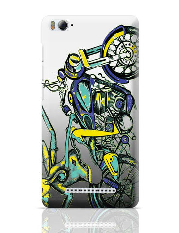 Xiaomi Mi 4i Covers | Lord Ganesh On Bullet Classic 500 Xiaomi Mi 4i Case Cover Online India