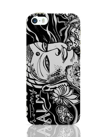 iPhone 5 / 5S Cases & Covers | Calm Is My Balm - The Buddha iPhone 5 / 5S Case Cover Online India
