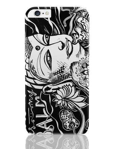 iPhone 6 Plus/iPhone 6S Plus Covers | Calm Is My Balm - The Buddha iPhone 6 Plus / 6S Plus Covers Online India