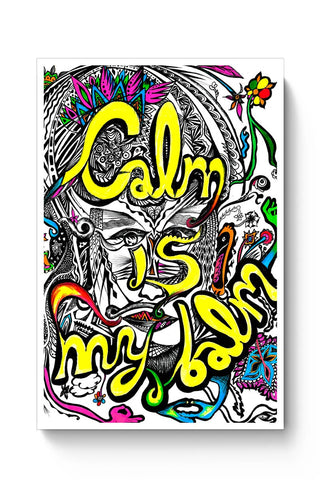 Calm In Bloom Poster Online India