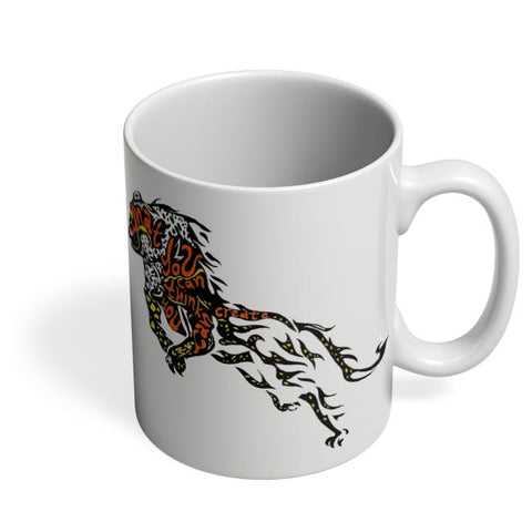 Cheetah as the Buddha Coffee Mug Online India
