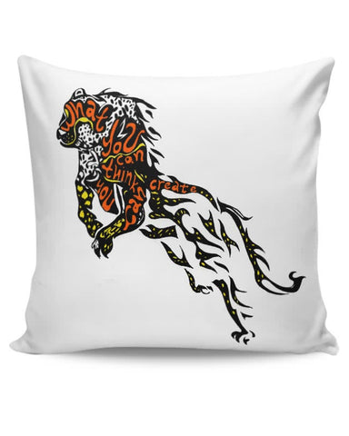Cheetah as the Buddha Cushion Cover Online India