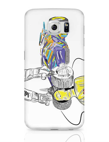 Buddha's calm soundtrack Samsung Galaxy S6 Covers Cases Online India