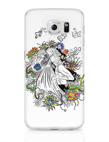 Batgirl in floral exotica Samsung Galaxy S6 Covers Cases Online India