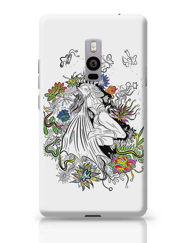 Batgirl in floral exotica OnePlus Two Covers Cases Online India
