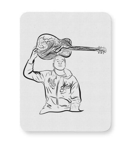 Jack Johnson surfing melodic waves Mousepad Online India
