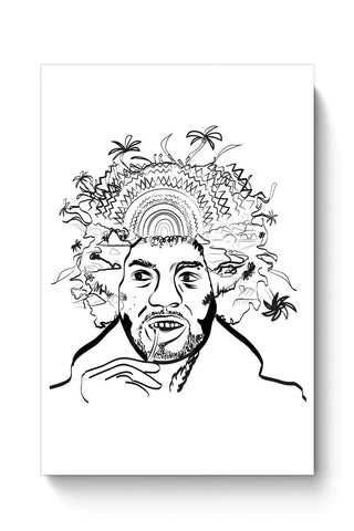 Buy Jimi Hendrix and his hair raising utopia  Poster