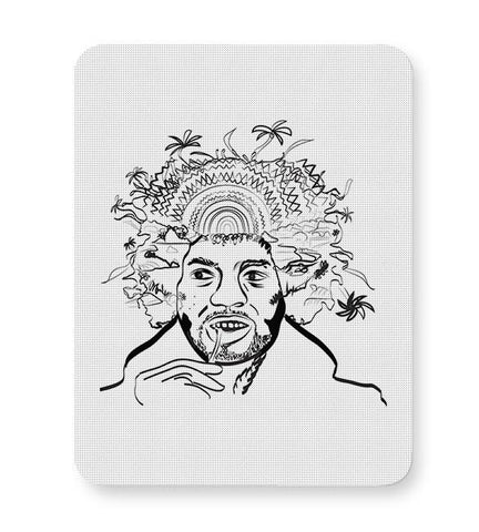 Jimi Hendrix and his hair raising utopia  Mousepad Online India