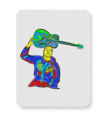 Jack Johnson surfing the blues  Mousepad Online India