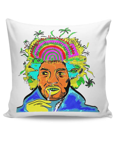 Jimi Hendrix and his hair raising utopia  Cushion Cover Online India
