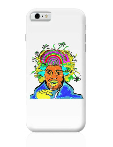 Jimi Hendrix and his hair raising utopia  iPhone 6 / 6S Covers Cases