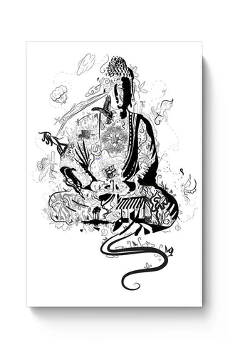 'Bee' Buddha Poster Online India