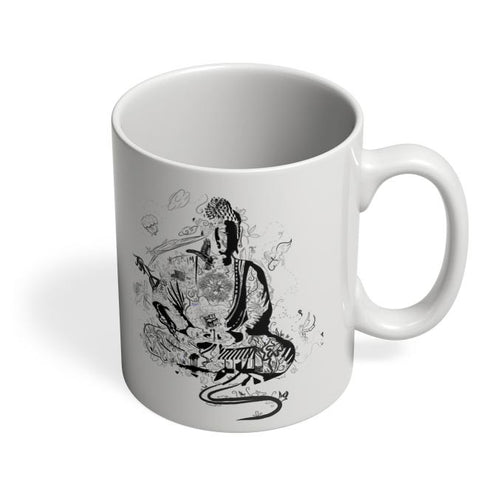 'Bee' Buddha Coffee Mug Online India