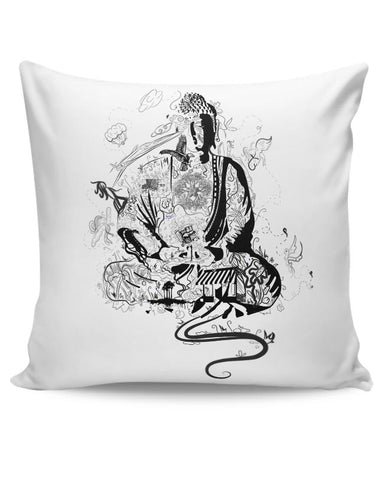 'Bee' Buddha Cushion Cover Online India