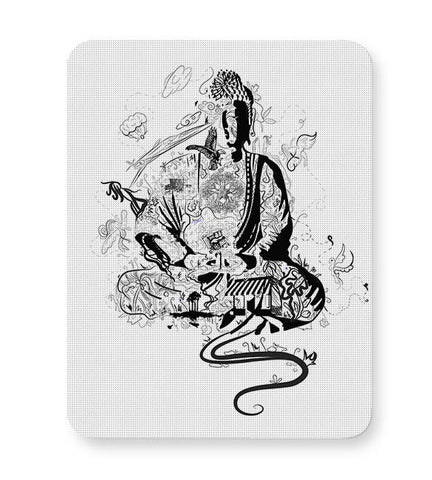 'Bee' Buddha Mousepad Online India
